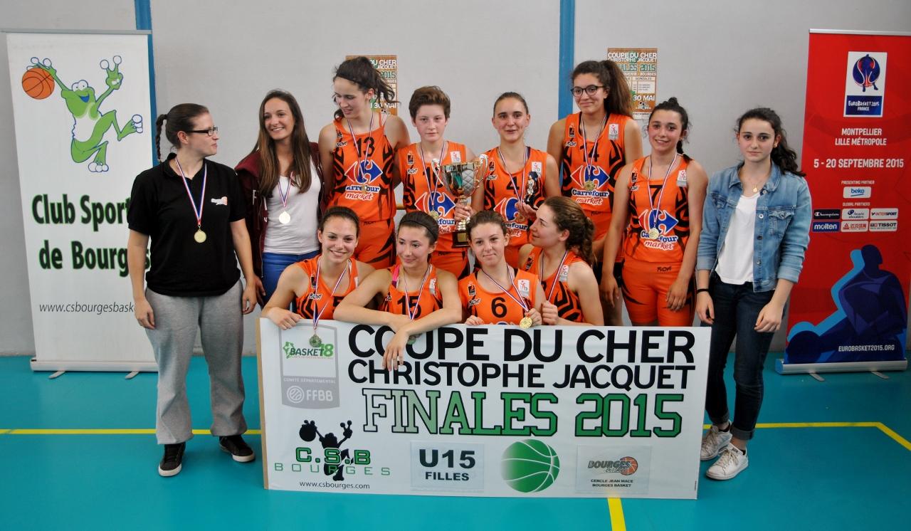 U15F - Victoire du CJMBB