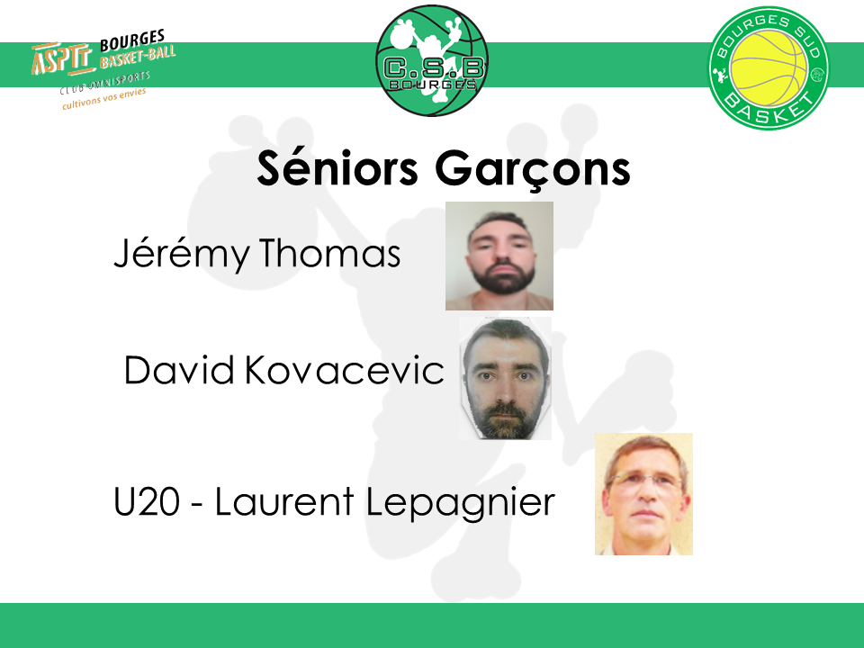 SENIORS GARCONS
