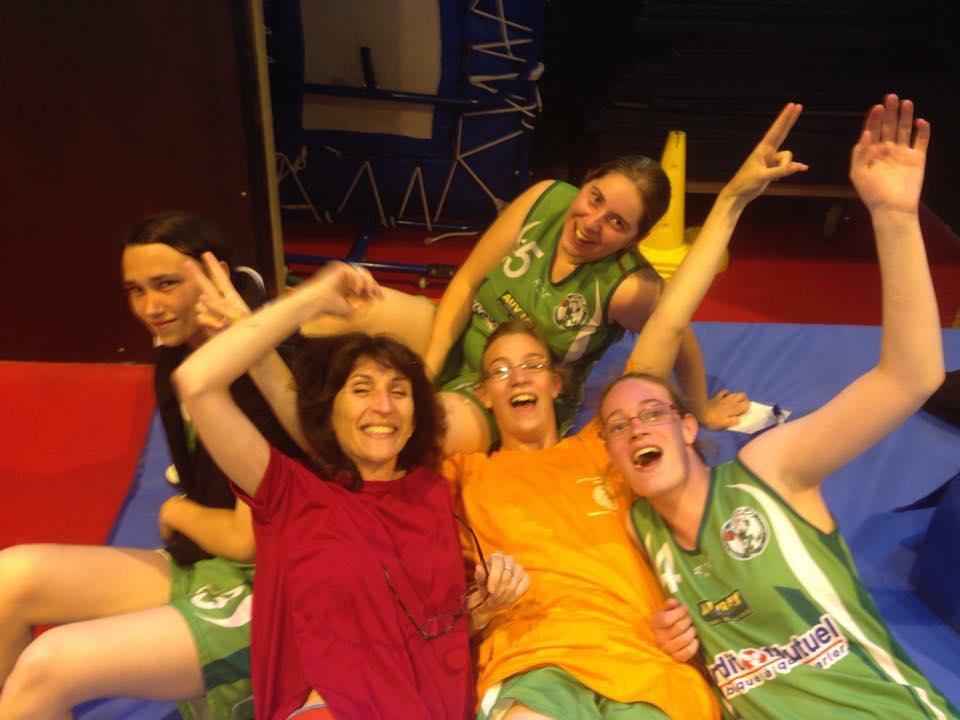 les filles du Sports Adapté!!