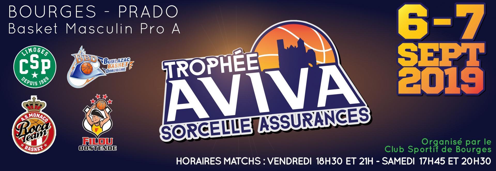 Trophee Aviva Sorcelle Assurances Club Sportif De Bourges