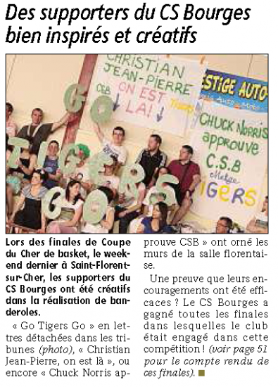 Supporters du CSB
