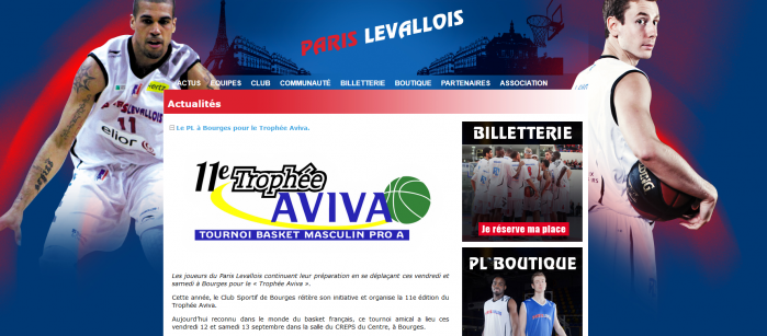 Site Paris Levallois