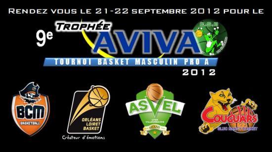 Trophée AVIVA Edition 2012