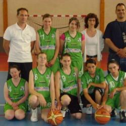Championnat basket-2012 FILLES