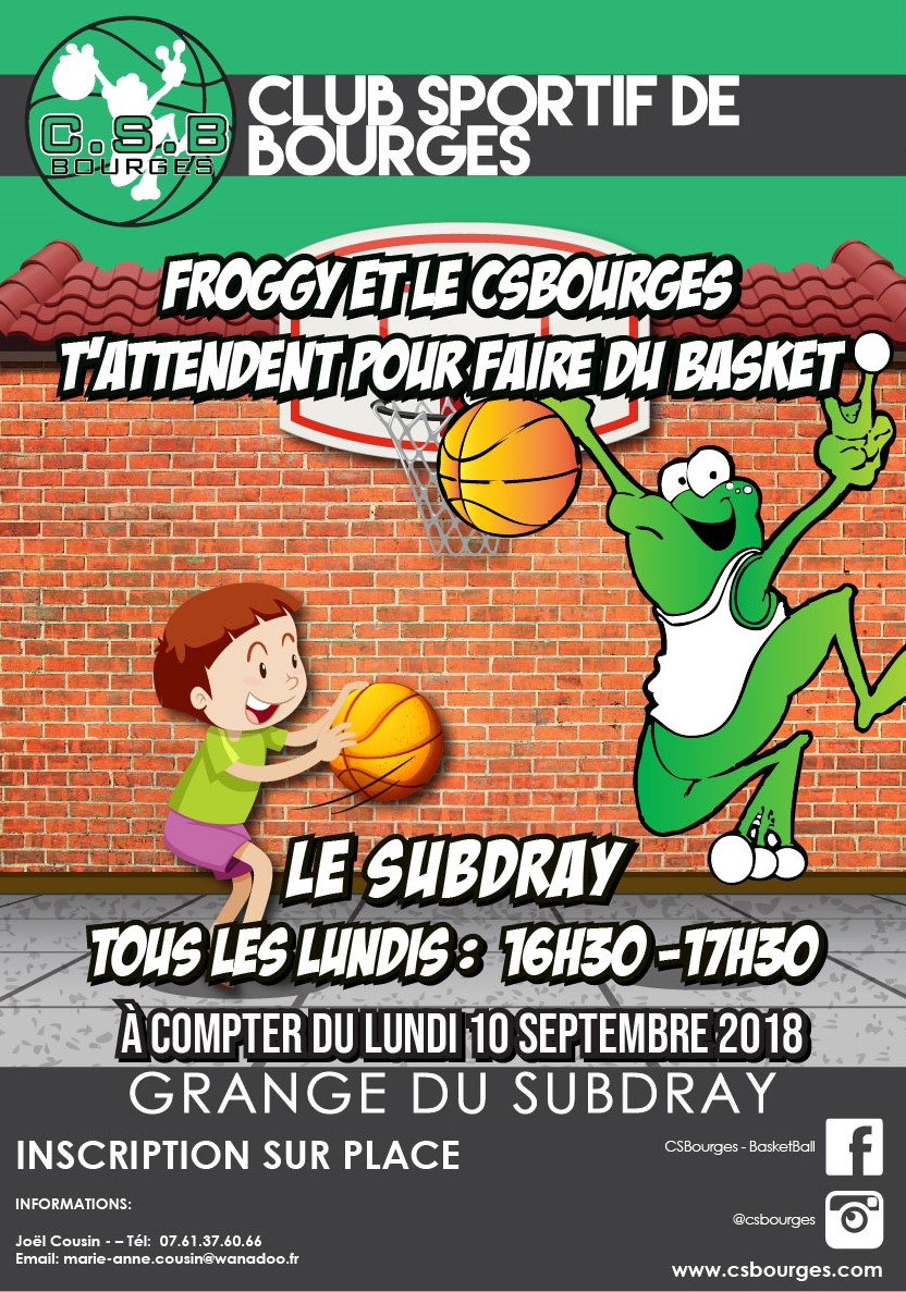 Creneau basket le subdray 2018copie
