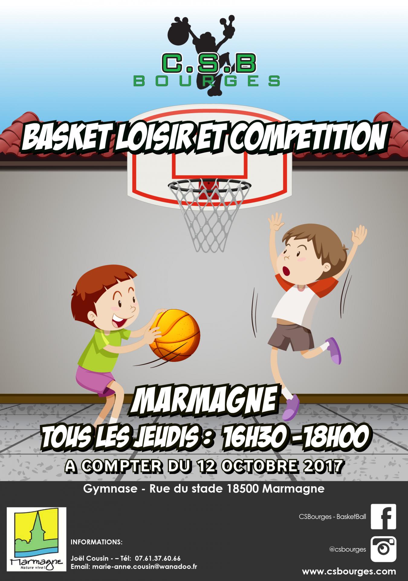 Creneau basket marmagne 2017 2