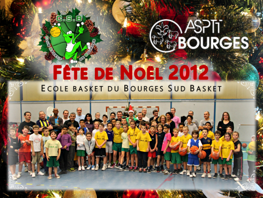 Fete de Noël Mini Basket 2012