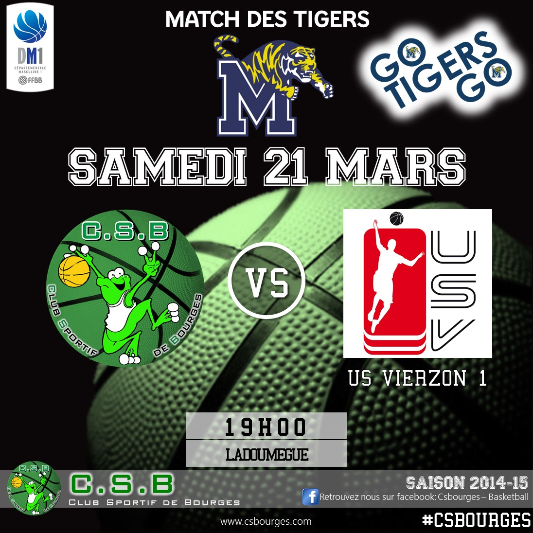 Match des Tigers