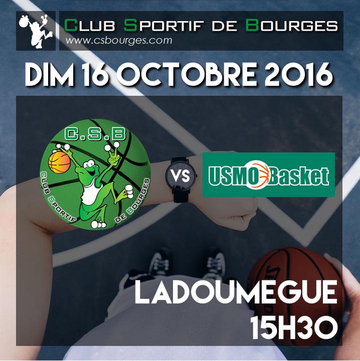 Matchs du WE du 15-16 octobre 2016