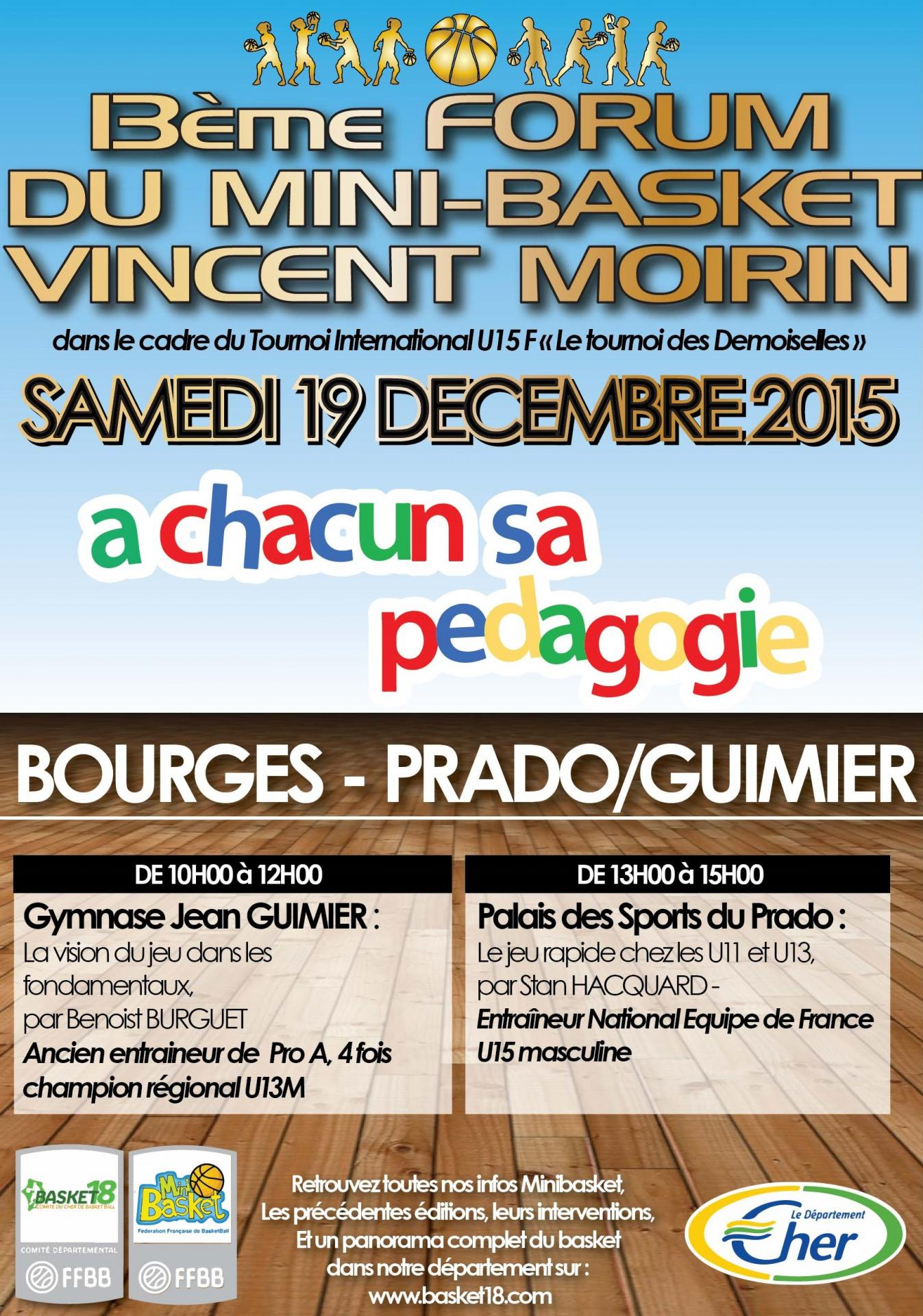 Forum Vincent Moirin 2015