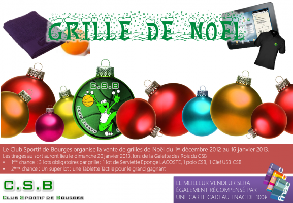Grille de Noël 2012