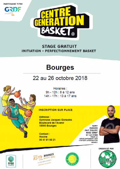 CENTRE GENRATION BASKET