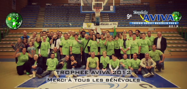 Bénévoles AVIVA 2012
