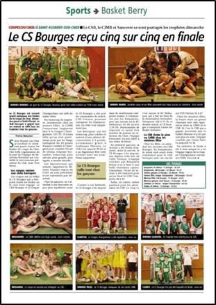 Article du Berry sur l'édition 2012