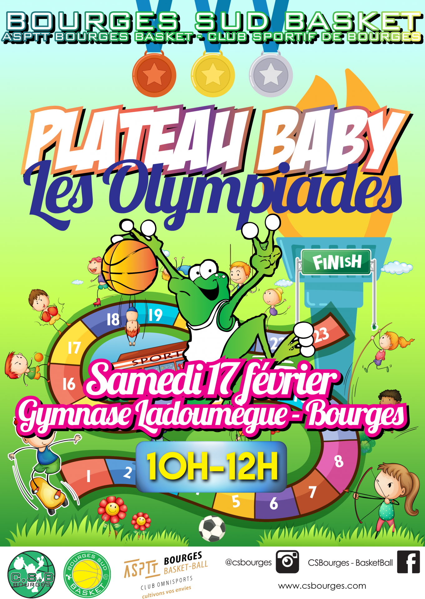 Plateau baby 2017 les olympiades