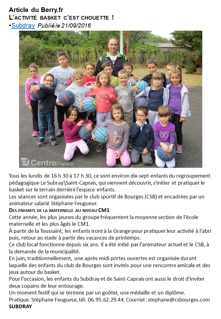 Article du Berry