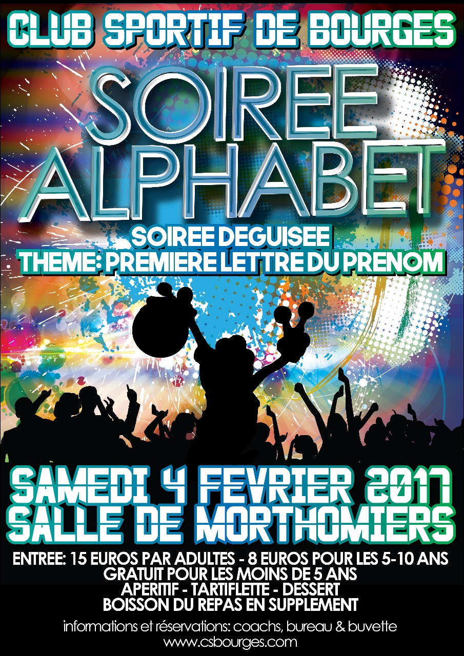 Soiree Alphabet 2017