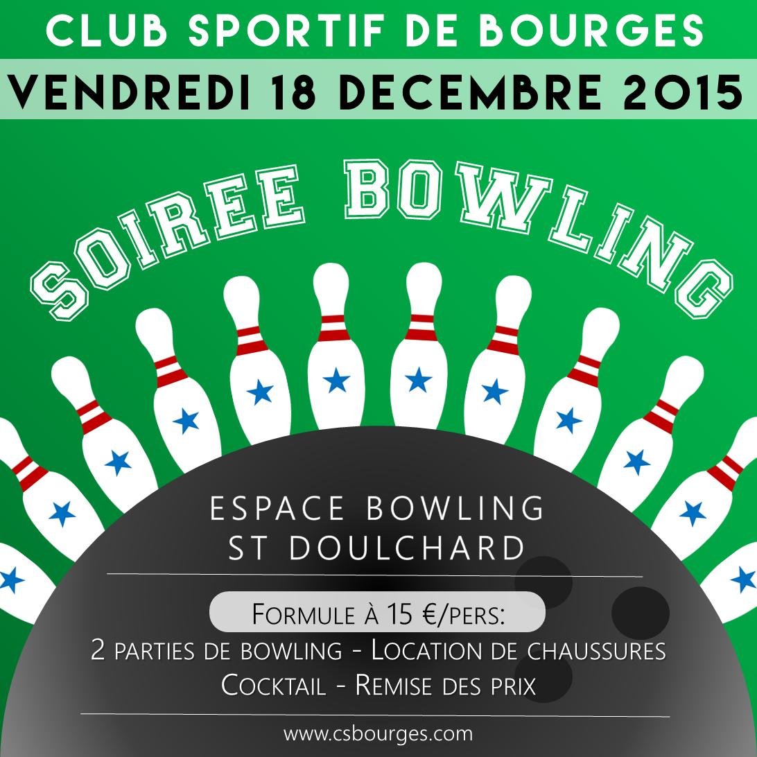 Soiree bowling 2015