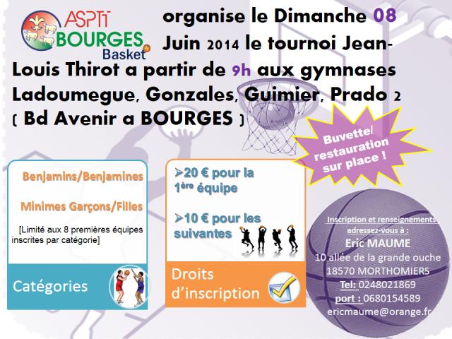 Tournoi affiche 2014