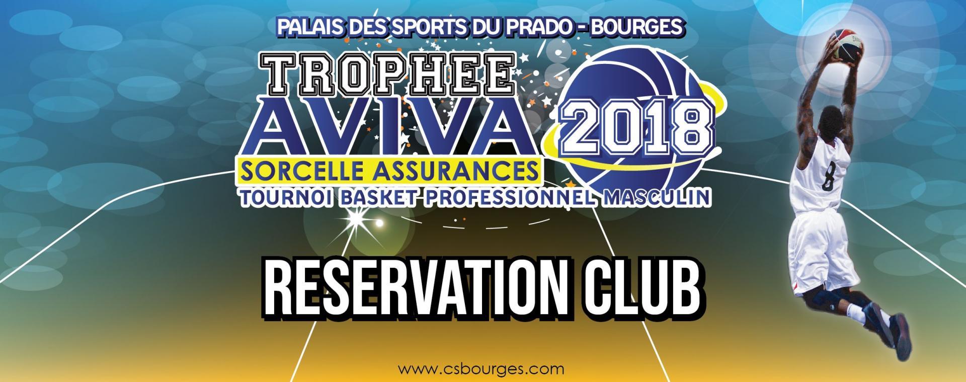 Réservation 2018 pour Club Association